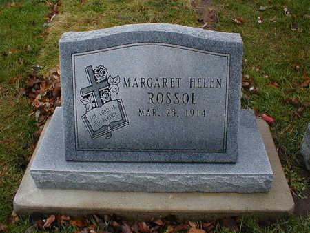 ROSSOL, MARGARET HELEN - Bremer County, Iowa | MARGARET HELEN ROSSOL