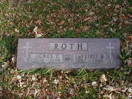ROTH, LAWRENCE M - Bremer County, Iowa | LAWRENCE M ROTH