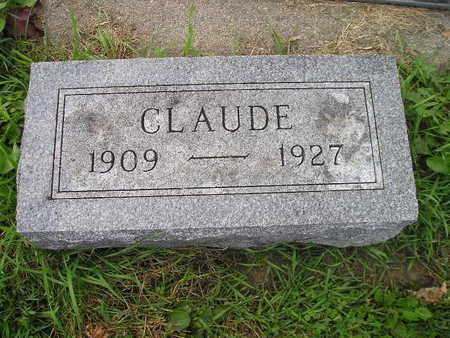 ROWRAY, CLAUDE - Bremer County, Iowa | CLAUDE ROWRAY