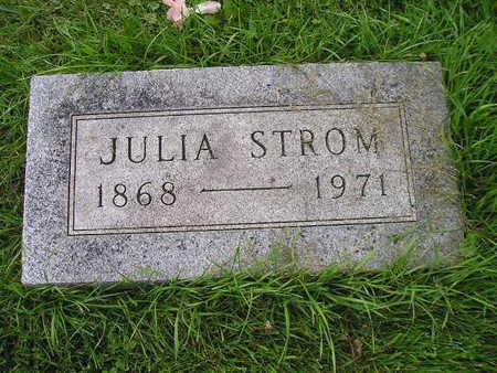 STROM ROWRAY, JULIA - Bremer County, Iowa | JULIA STROM ROWRAY
