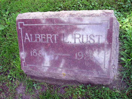 RUST, ALBERT L - Bremer County, Iowa | ALBERT L RUST