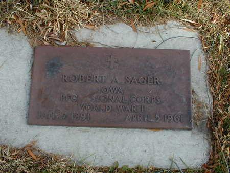 SAGER, ROBERT A - Bremer County, Iowa | ROBERT A SAGER