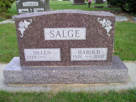SALGE, HELEN - Bremer County, Iowa | HELEN SALGE