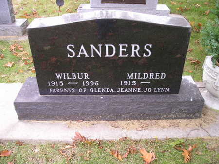 SANDERS, MILDRED - Bremer County, Iowa | MILDRED SANDERS