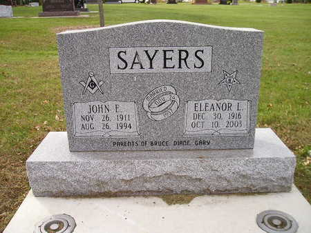 SAYERS, ELEANOR L - Bremer County, Iowa | ELEANOR L SAYERS
