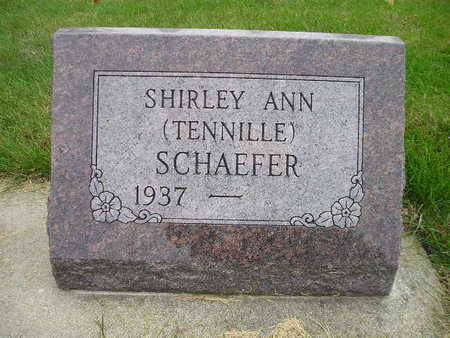 SCHAEFER, SHIRLEY ANN - Bremer County, Iowa | SHIRLEY ANN SCHAEFER