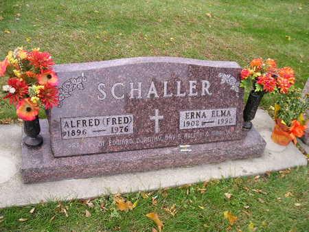 SCHALLER, ERNA ELMA - Bremer County, Iowa | ERNA ELMA SCHALLER