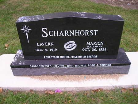 SCHARNHORST, MARION - Bremer County, Iowa | MARION SCHARNHORST