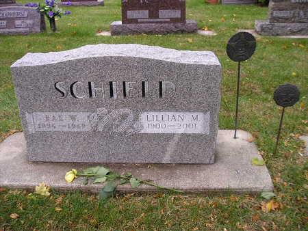 SCHIELD, LILLIAN M - Bremer County, Iowa | LILLIAN M SCHIELD
