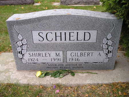 SCHIELD, SHIRLEY M - Bremer County, Iowa | SHIRLEY M SCHIELD