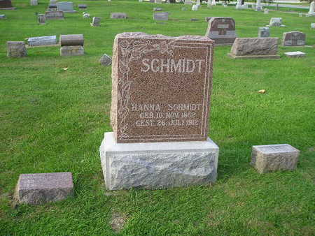 SCHMIDT, MUTTER (HANNA) - Bremer County, Iowa | MUTTER (HANNA) SCHMIDT