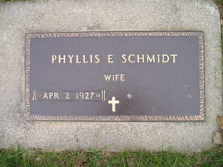 SCHMIDT, PHYLLIS E - Bremer County, Iowa | PHYLLIS E SCHMIDT