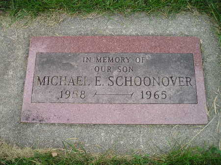 SCHOONOVER, MICHAEL E - Bremer County, Iowa | MICHAEL E SCHOONOVER