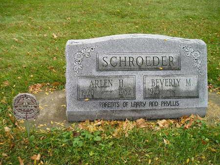 SCHROEDER, ARLEN H - Bremer County, Iowa | ARLEN H SCHROEDER