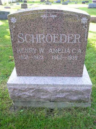 SCHROEDER, AMELIA C A - Bremer County, Iowa | AMELIA C A SCHROEDER