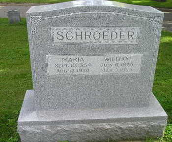 SCHROEDER, WILLIAM - Bremer County, Iowa | WILLIAM SCHROEDER