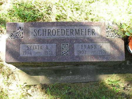 SCHROEDERMEIER, FRANK W - Bremer County, Iowa | FRANK W SCHROEDERMEIER