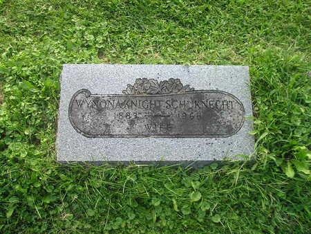 KNIGHT SCHUKNECAT, WYNONA - Bremer County, Iowa | WYNONA KNIGHT SCHUKNECAT
