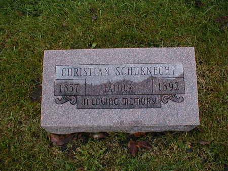 SCHUKNECHT, CHRISTIAN - Bremer County, Iowa | CHRISTIAN SCHUKNECHT