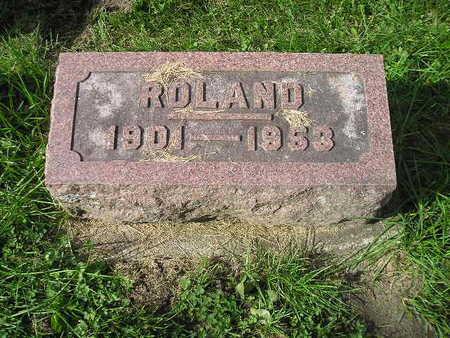 SCHULZE, ROLAND - Bremer County, Iowa | ROLAND SCHULZE