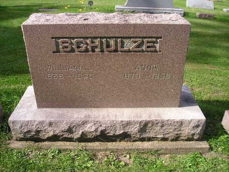 SCHULZE, WILLIAM L - Bremer County, Iowa | WILLIAM L SCHULZE