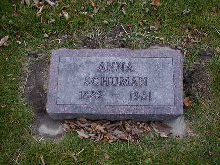 SCHUMAN, ANNA - Bremer County, Iowa | ANNA SCHUMAN