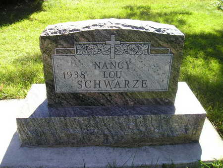 SCHWARZE, NANCY LOU - Bremer County, Iowa | NANCY LOU SCHWARZE