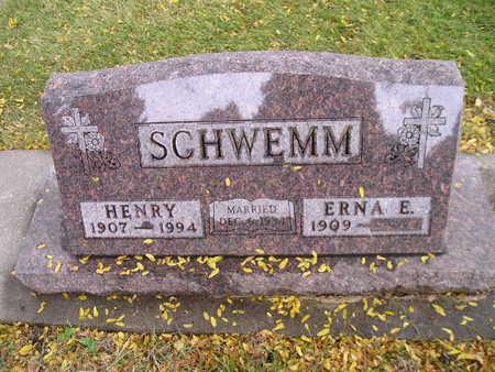 SCHWEMM, ERNA E - Bremer County, Iowa | ERNA E SCHWEMM