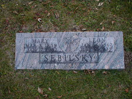 SEBILSKY, MARY - Bremer County, Iowa | MARY SEBILSKY