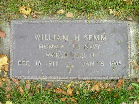 SEMM, WILLIAM H - Bremer County, Iowa | WILLIAM H SEMM