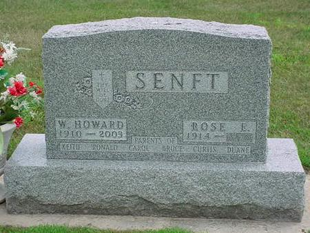 SENFT, WILLIAM HOWARD - Bremer County, Iowa | WILLIAM HOWARD SENFT
