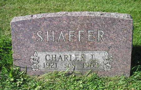 SHAFFER, CHARLES I - Bremer County, Iowa | CHARLES I SHAFFER