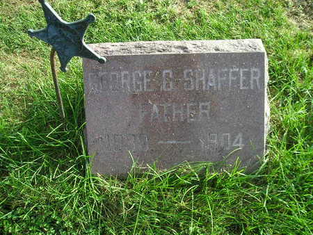 SHAFFER, GEORGE C - Bremer County, Iowa | GEORGE C SHAFFER