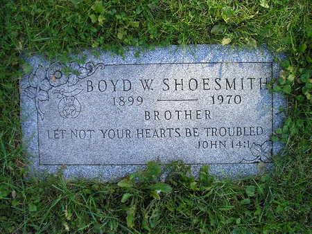 SHOESMITH, BOYD W - Bremer County, Iowa | BOYD W SHOESMITH