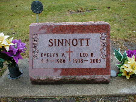 SINNOTT, EVELYN V - Bremer County, Iowa | EVELYN V SINNOTT