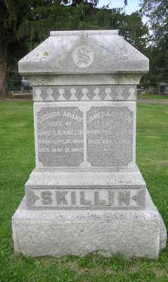 SKILLIN, MARY - Bremer County, Iowa | MARY SKILLIN
