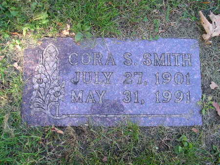 SMITH, CORA S - Bremer County, Iowa | CORA S SMITH