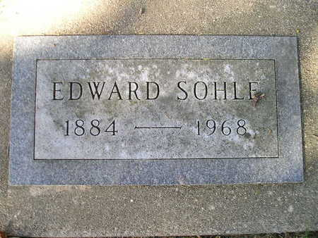 SOHLE, EDWARD - Bremer County, Iowa | EDWARD SOHLE