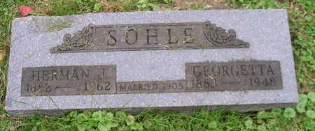 SOHLE, HERMAN J - Bremer County, Iowa | HERMAN J SOHLE