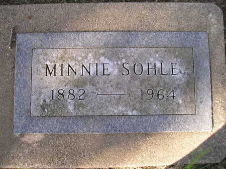 SOHLE, MINNIE - Bremer County, Iowa | MINNIE SOHLE