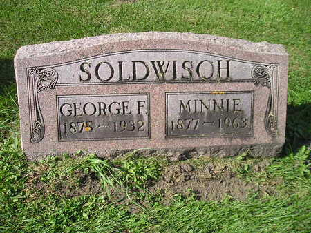 SOLDWISCH, MINNIE - Bremer County, Iowa | MINNIE SOLDWISCH