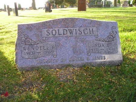 SOLDWISCH, ADA L - Bremer County, Iowa | ADA L SOLDWISCH