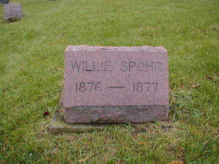 SPOHR, WILLIE - Bremer County, Iowa | WILLIE SPOHR