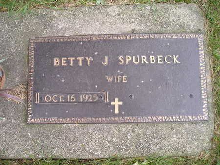 SPURBECK, BETTY J - Bremer County, Iowa | BETTY J SPURBECK