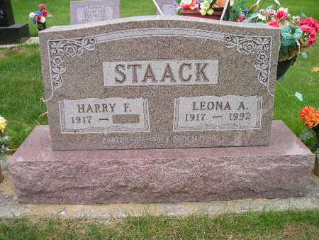 STAACK, HARRY F - Bremer County, Iowa | HARRY F STAACK