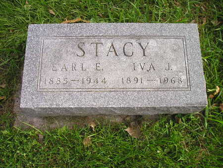 STACY, EARL E - Bremer County, Iowa | EARL E STACY