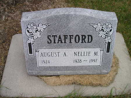 STAFFORD, NELLIE M - Bremer County, Iowa | NELLIE M STAFFORD