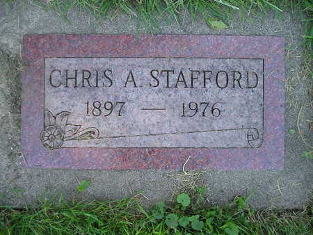 STAFFORD, CHRIS A - Bremer County, Iowa | CHRIS A STAFFORD