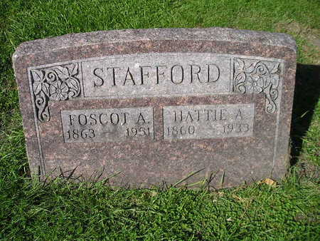 STAFFORD, HATTIE A - Bremer County, Iowa | HATTIE A STAFFORD