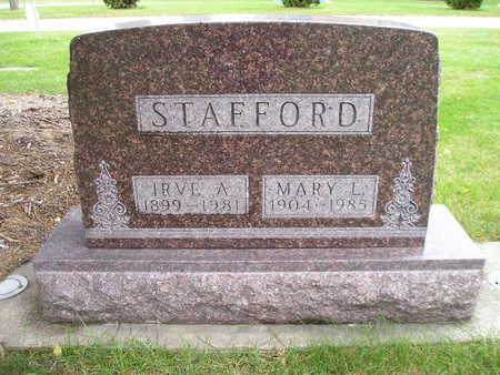 STAFFORD, MARY L - Bremer County, Iowa | MARY L STAFFORD